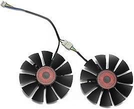 RKRJJJ Fit for Asus Strix Gtx1060 Gtx960 Gtx950 Fan GTX 950 960 1060 Graphics Card T128010bh 75Mm Dc 12V 0.25A Fan(Color:2...