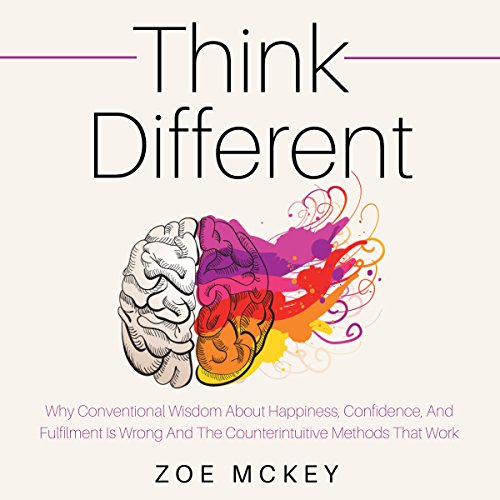 Think Different audiobook cover art