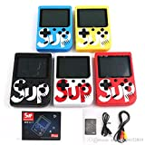 LucaHome - Consola Retro portatil 400 Juegos en 1 Sup, Consola portatil Arcade con Pantalla LCD 2,8', Consola Retro con bateria de Litio, (Azul)