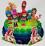 Strawberry Shortcake and Friends Birthday Cake Topper