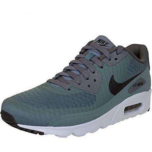 Nike Air Max 90 Ultra Essential, Scarpe da Ginnastica Uomo, Verde (Hasta/Black/Dark Grey Pure Platinum), 40.5 EU