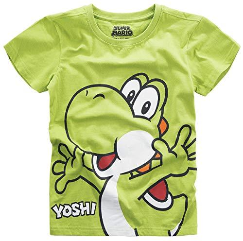 Super Mario Yoshi Kinder & Babies T-Shirt grün 122/128