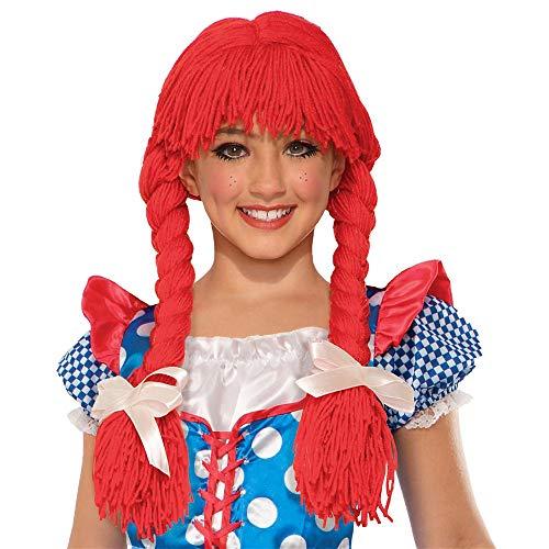 Braided Rag Doll Wig