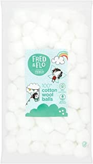 Fred And Flo Cotton Wool Square Pads 50S
