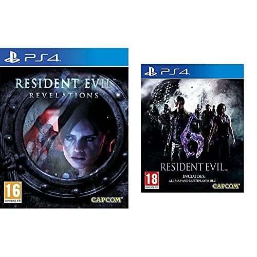 Capcom Resident Evil Revelations Hd + Resident Evil 6 Hd