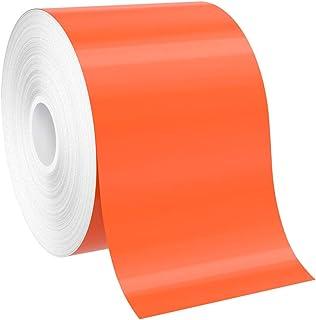 "SafetyPro 3""x150` Orange Premium Vinyl Labeling Tape, for SafetyPro, Duralabel 4TTP, Duralabel Pro, VnM, and Select LabelT..."