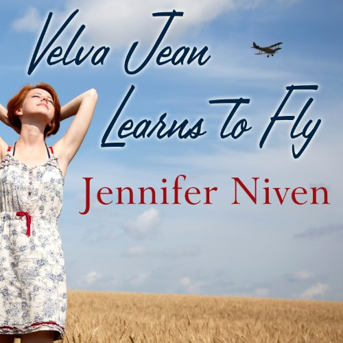 Velva Jean Learns to Fly audiobook cover art
