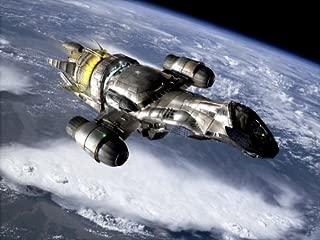 SD8304 Serenity Firefly Vessel Spaceship TV Series 24x18 Print POSTER