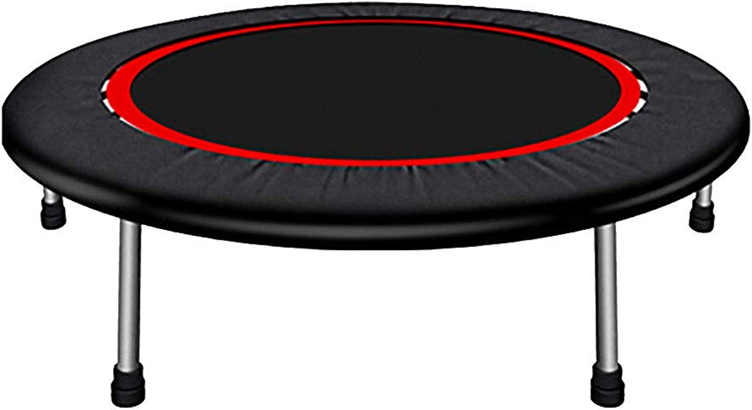 XinYing-BBC Mini Trampolines For Adults - Fitness, Workout, for Adults and Kids, with Bungee Rope System for Home Cardio Workouts 40  48  54