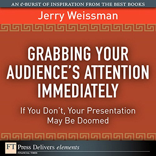 Grabbing Your Audience's Attention Immediately audiobook cover art