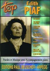 Partition : Top Piaf
