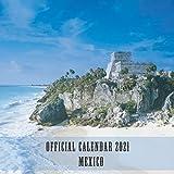 """Mexico: 2021 Wall Calendar - Mini Calendar, 7""""x7"""", 12 Months"""