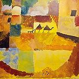 1art1 Paul Klee - Zwei Kamele Und EIN Esel, 1919 Poster