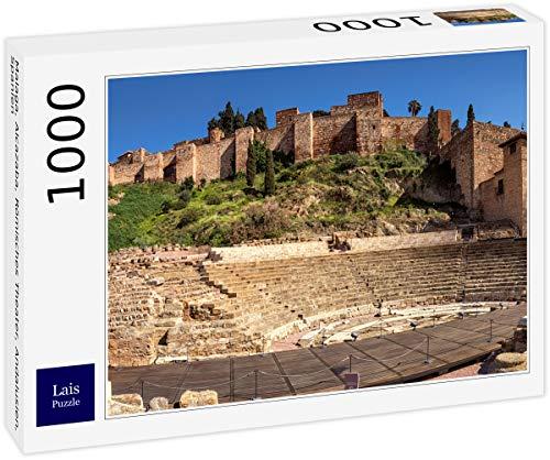 Lais Puzzle Málaga, Alcazaba, Teatro Romano, Andalucía, España 1000 Piezas