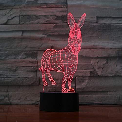 Twilight Change Visual Animal Modelling Table Lamp atmósfera decoración del hogar iluminación Child Touch Night Light