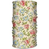 Pañuelo Blusa con Estampado Floral Diadema Polaina Al Aire