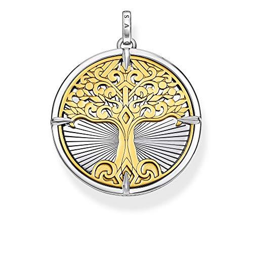 THOMAS SABO Anhänger Tree of Love Gold, PE885-966-39, 4.1