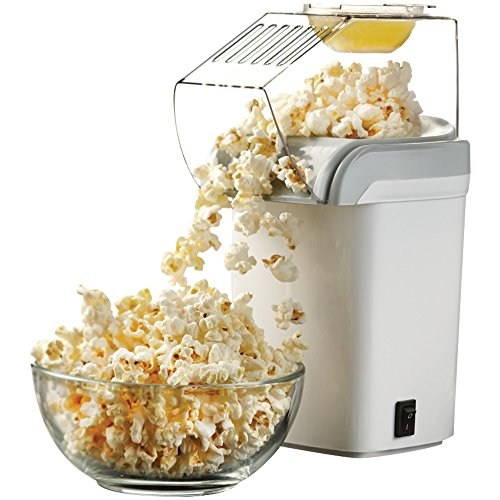 Best Prices! 1 - Hot Air Popcorn Maker, 1,200W, Pops using hot air, 1-switch operation