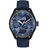 Marvel by Citizen Eco-Drive Men's Marvel Heroes Blue Strap Watch