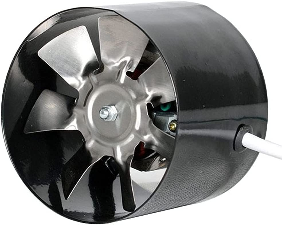 Ventilador de conducto en línea de 4 Pulgadas, Ventilador de Tubo de ventilación, Ventilador de Escape, Mini Extractor, Ventilador de baño, Ventilador de Pared para Inodoro, 220 v