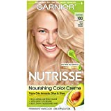 Garnier Nutrisse Nourishing Hair Color Creme, 100 Extra-Light Natural Blonde (Chamomile) (Packaging May Vary)