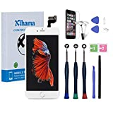 Xlhama Remplacement Écran Complet pour iPhone 6S Plus Blanc 5,5' avec Outils de...