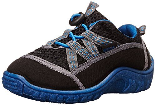 Northside Brille II Hiking Boot, Black/Blue, 5 M US Big Kid