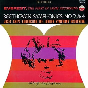 Beethoven: Symphonies No. 2 & 4