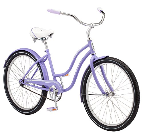 Schwinn Talia Womens Cruiser Bike, 26-Inch Wheels, Purple
