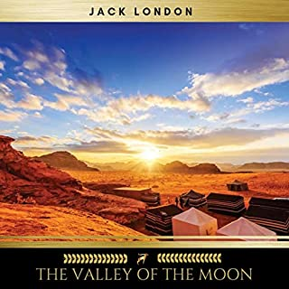 The Valley of the Moon audiobook cover art