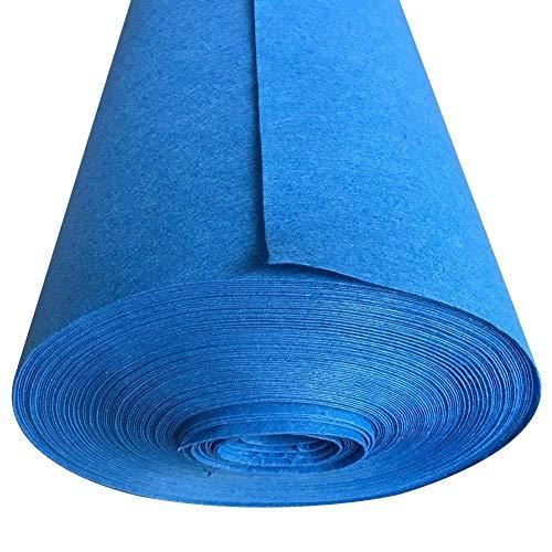 ALFYMX moqueta por Metros Alfombra Azul, Alfombra de Apertura de Bodas, Alfombra desechable, Alfombra de celebración Alfombra roja (Size : 1 * 10 m)