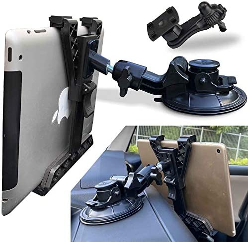 Randconcept 3 in 1 Tablet Holder Car Air Vent Mount Strong Suction Cup Version Universal Dashboard product image