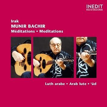 Irak : Munir Bachir, Meditation (Arab Lute)