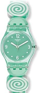 Swatch Women's LG126A Sminty L Year-Round Analog Quartz Green Watch