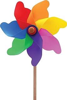 Kardeşler Oyuncak Rüzgar Gülü 7 Kanat 20 cm