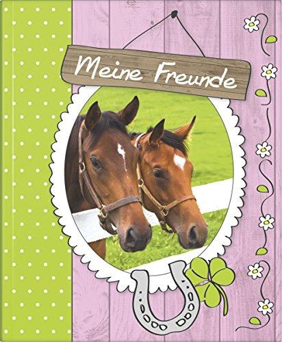 Brunnen Freundebuch Pferde - Meine Freunde - Poesiealbum
