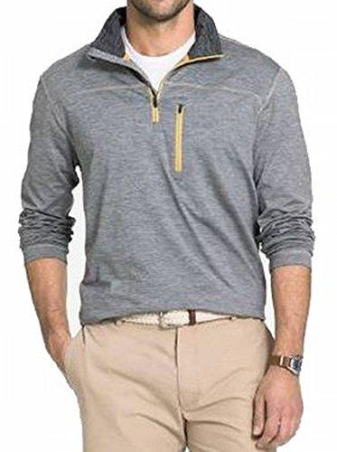 G.H. Bass & Co. メンズ エクスプローラー 長袖 1/4ジップセーター フリース プルオーバー US サイズ: Large