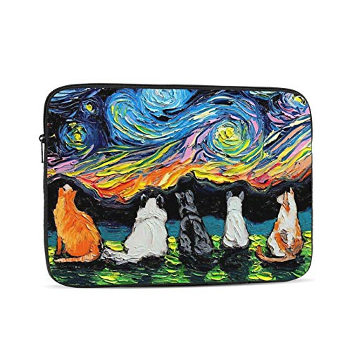 KXT Funny Art Dachshund Laptop Sleeve Case,Briefcase Cover Protective Bag,Ultrabook Netbook Carrying Handbag for Women Men