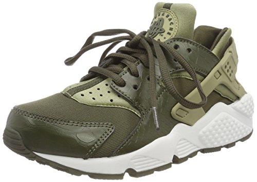 Nike Damen Air Huarache Run Laufschuhe, Mehrfarbig (Neutral Olive/Cargo 201), 38.5 EU