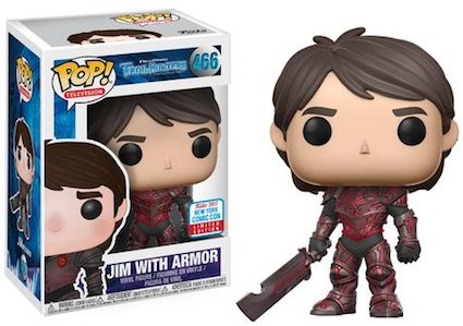 2017 NYCC Exclusive Pop! - Television: Trollhunters - Jim with Red Armor with NYCC Sticker
