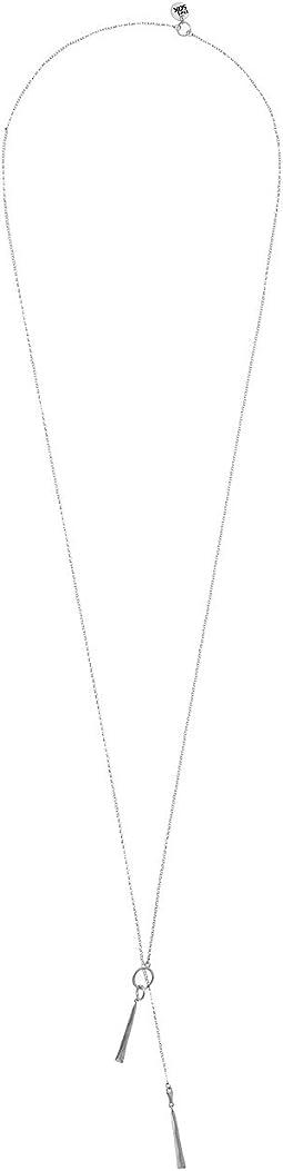 The Sak - Long Paddle Pendant Necklace