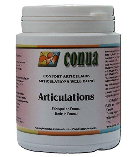 Complejo GLUCOSAMINA + CONDROITINA + REINA DE LOS PRADOS + GLUCONATO DE COBRE + MANGANESO GLUCOMATE Ayuda a los Articulaciones y Cartílagos artritis 120 cápsulas ARTICULATION