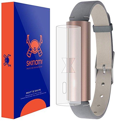 Skinomi Matte Full Body Protector Compatible with Misfit Ray Fitness Tracker Full Coverage Matte Skin Anti-Glare HD Film