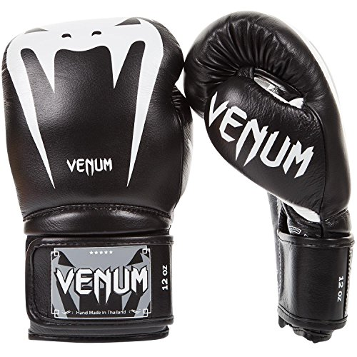 Venum Giant 3.0 Boxhandschuhe Muay Thai, Kickboxing, Schwarz, 16 oz