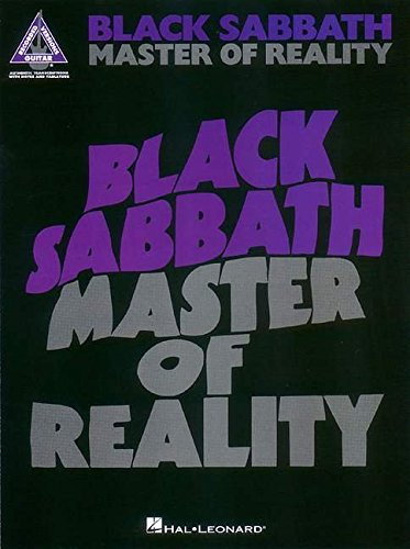 Black Sabbath - Master of Reality (GUITARE)