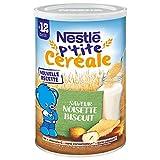 Nestlé P'tite Céréale Saveur Noisette - Galleta (400 g)