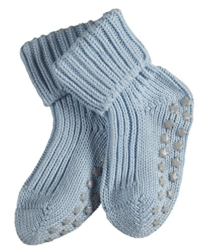 FALKE Baby Socken Catspads Cotton, 1 Paar, Blau (Powder Blue 6250), 80-92