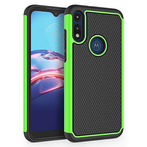 SYONER Shockproof Phone Case Cover for Motorola Moto E 2020 (6.2') [Green]