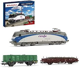 Outletdelocio. Electrotren E10121. Circuito iniciacion Tren Electrico Rail Express. Escala HO