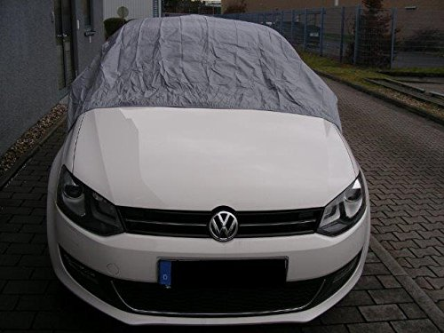Kley & Partner Halbgarage Auto Abdeckung Plane Haube wasserdicht UV resistent kompatibel mit Opel ADAM ab 2015